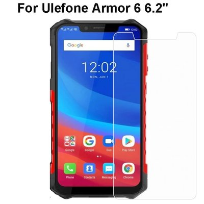 СТЪКЛЕН SCREEN PROTECTOR, TEMPERED GLASS ЗА ULEFONE ARMOR 6