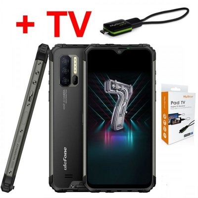ULEFONE ARMOR 7 IP68/IP69K +TV ТУНЕР МОБИЛЕН ТЕЛЕФОН