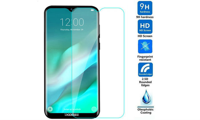 СТЪКЛЕН SCREEN PROTECTOR, TEMPERED GLASS ЗА DOOGEE Y8